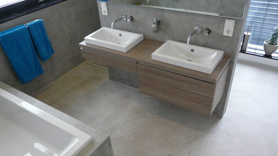 Gietvloer badkamer bekijk hier de mogelijkheden
