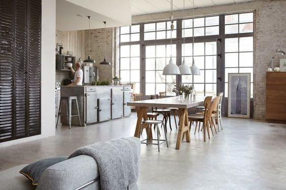 Gietvloer Op Beton : Een beton gietvloer in een industrieel interieur betongietvloer.nl